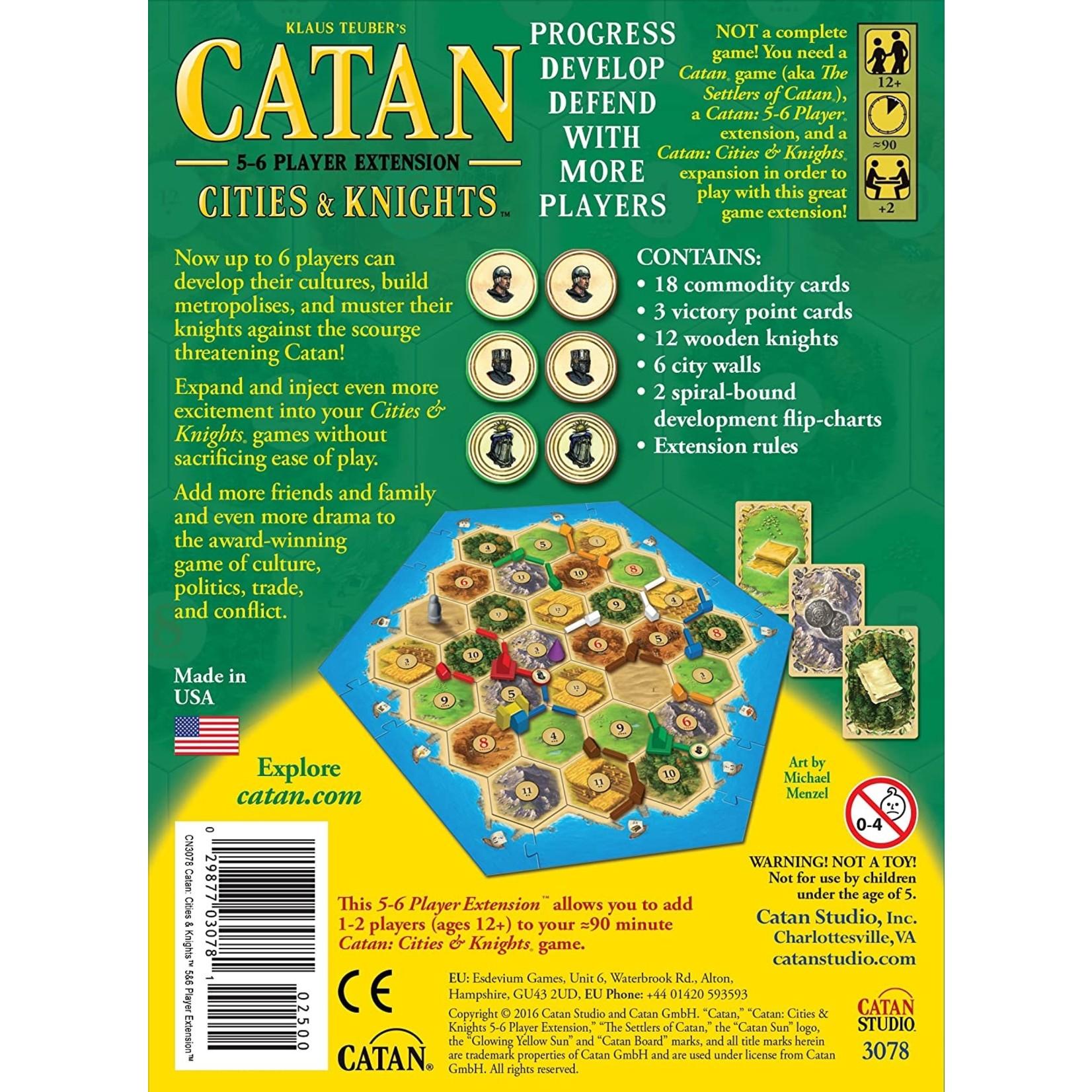 Catan Studios Inc. Catan: Cities & Knights 5-6 Player Extension