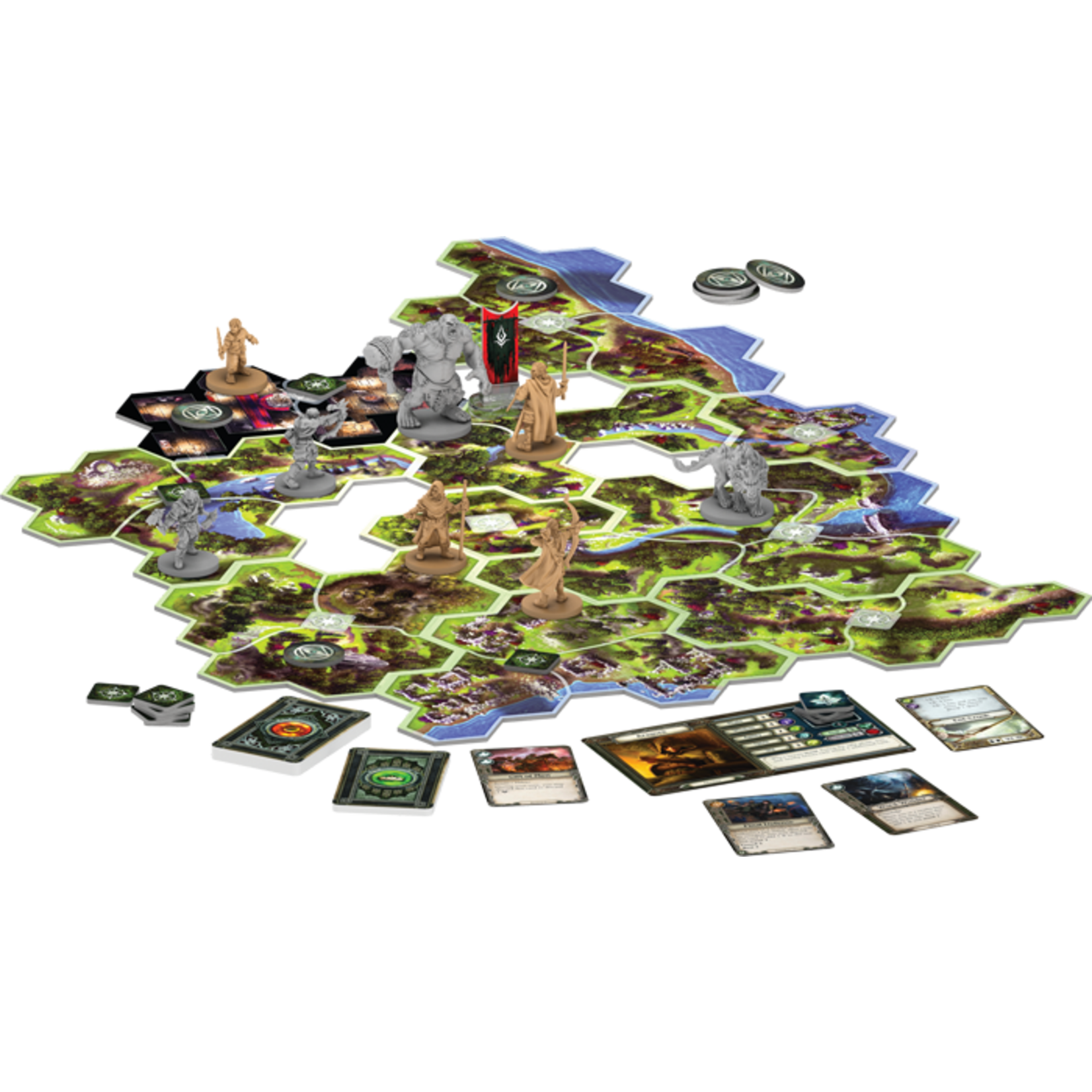 Fantasy Flight Publishing The Lord of the Rings: Journeys in Middle-earth