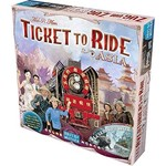 Days of Wonder Ticket to Ride: Asia Map Collection