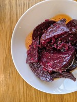 Tangy Roasted Local Beets