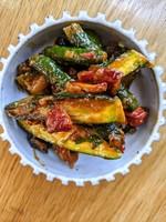 Local Zucchini & Eggplant Pisto
