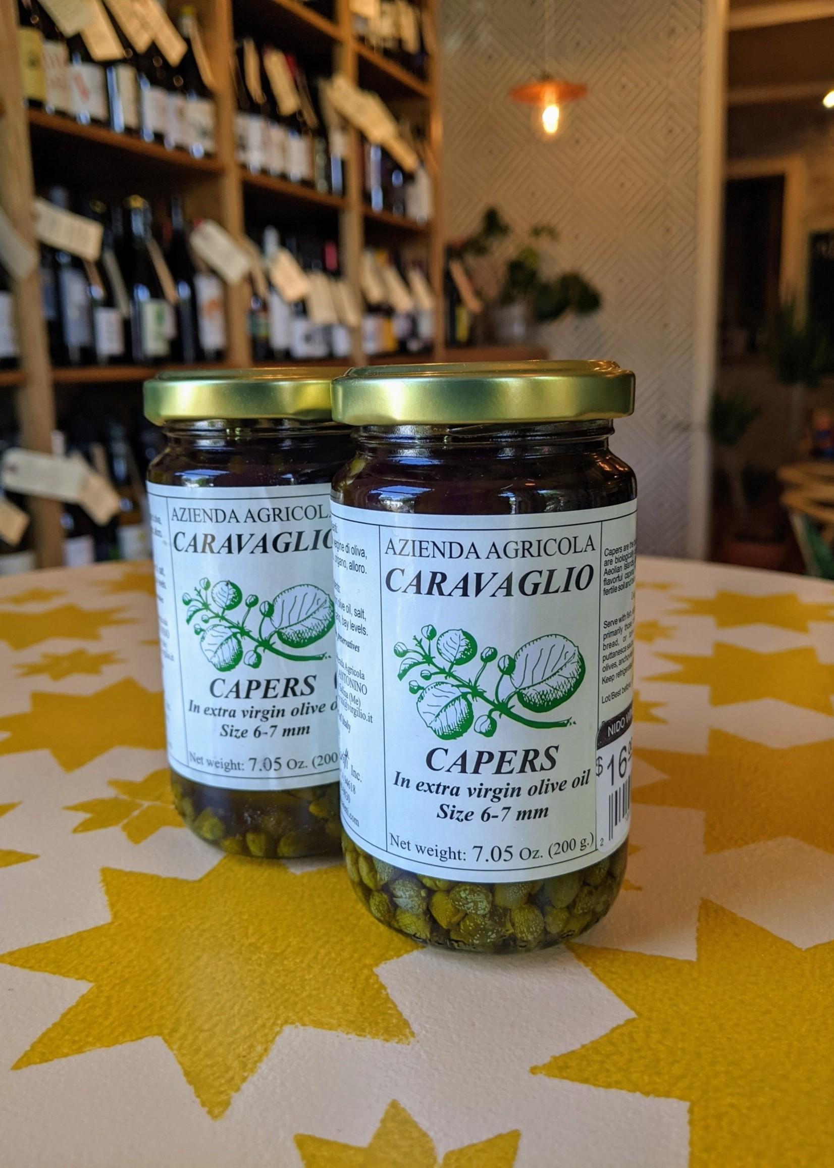 Azienda Agricola Caravaglio  Capers in Olive Oil (7oz)