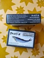 Matiz Lightly Smoked Sardines in Olive Oil