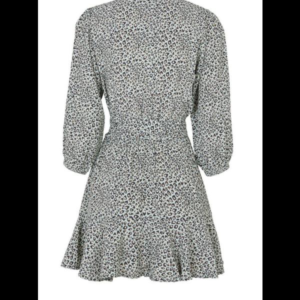 Kivari Kivari Wrap Mini Dress