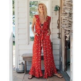 Kivari Kivari Quinn Floral Jumpsuit