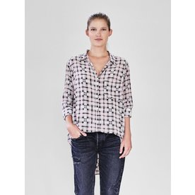 acacia Acacia Milos Cotton Silk Button Up