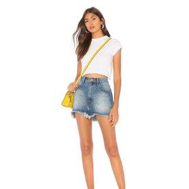 Oneteaspoon Oneteaspoon Vanguard Mid Ride Mini Skirt