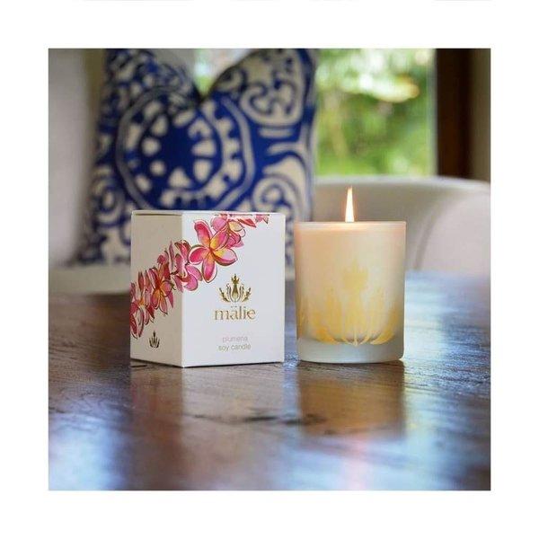 Malie Organics Malie Organics Soy Candle Plumeria