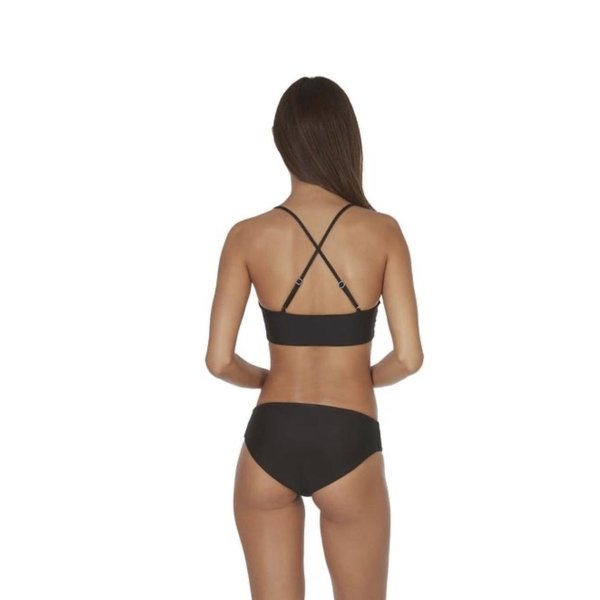 Mikoh Swimwear Mikoh Top Capri Fuller Coverage Basic Scoop