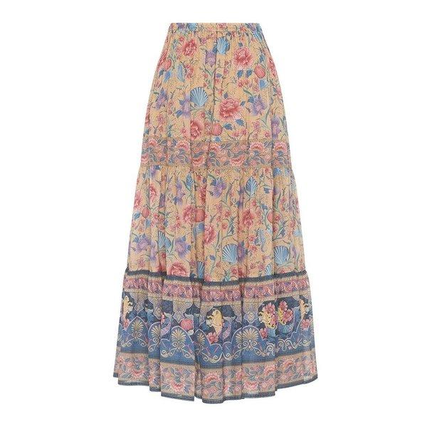 Spell Designs Spell Seashell Maxi Skirt