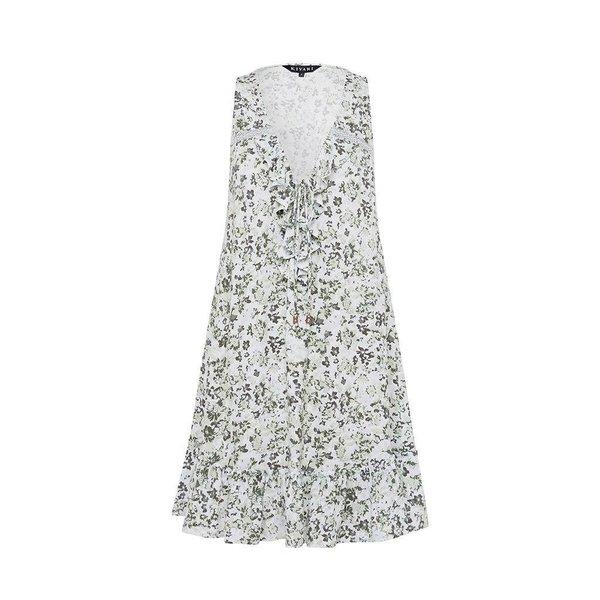 Kivari Kivari Valley Floral Frill Mini Dress