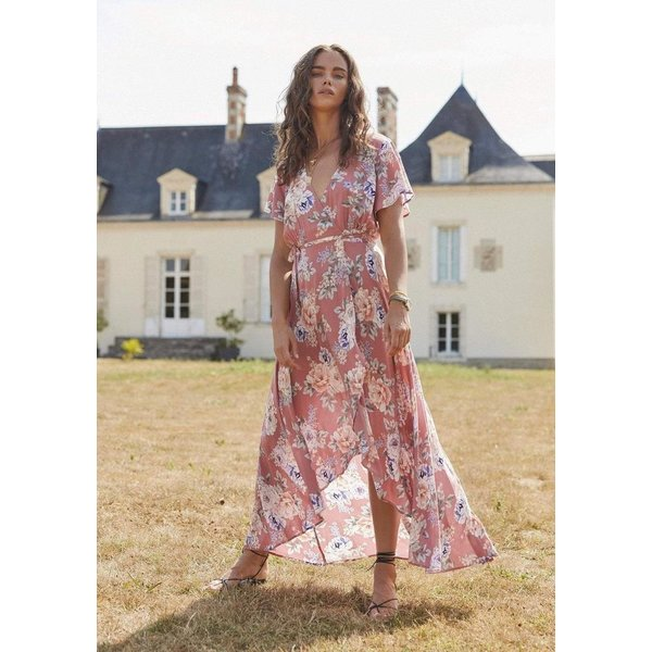 Auguste Auguste Pascal Muse Wrap Maxi Dress