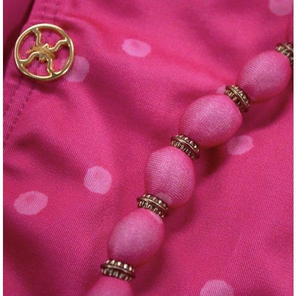 Vix Vix Brigitte Pink Beads Tri