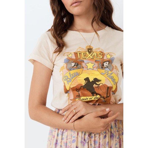 Spell Designs Spell Texan Blue Moon Organic Girlfriend Tee