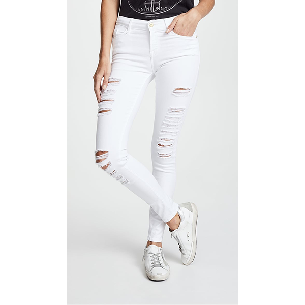 Frame Frame Le Color Ripped Pant