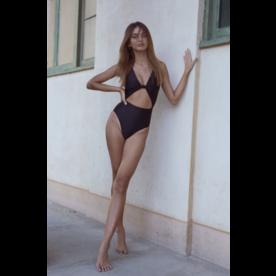 Estrela do Mar Estrela Swimwear Cruz Knot 1PC