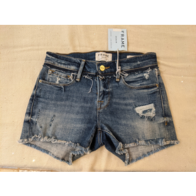 Frame Frame Le Cut Off Shorts