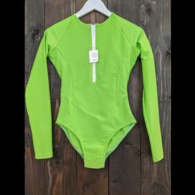 Estrela do Mar Estrela Swim Shorebreak 1pc Long Sleeve Zipper