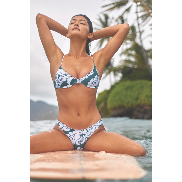 Mikoh Swimwear Mikoh Cruz Bay Basic Full Coverage Bottom