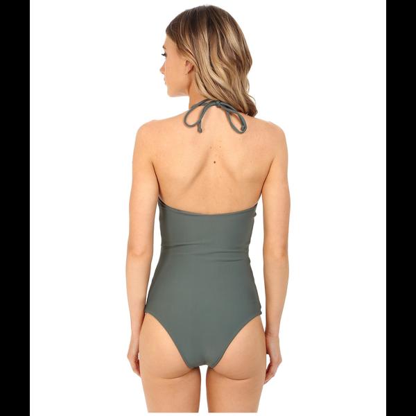 Mikoh Swimwear Mikoh Avalon Macrame Halter 1PC