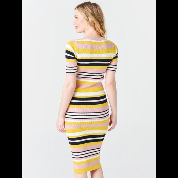 Frame Frame Baja Stripe Dress