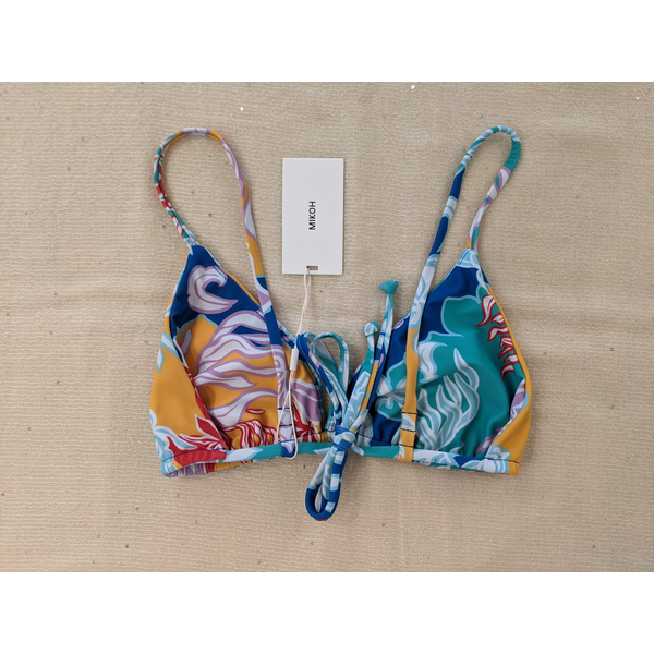 Mikoh Swimwear Mikoh Catalina Classic String Tri Top