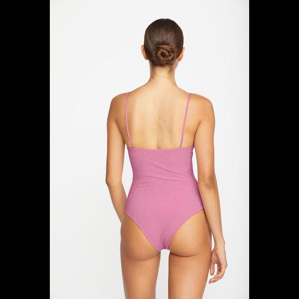 Mikoh Swimwear Mikoh Lele Lurex Classic String High Led 1PC