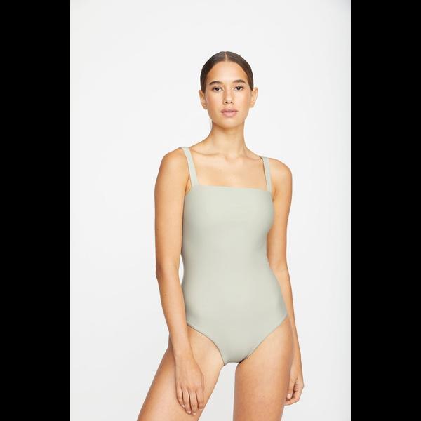 Mikoh Swimwear Mikoh Tatakoto Flat Strap Square Neck 1PC