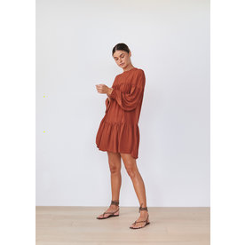 acacia Acacia Drew Cupro Dress