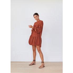 Acacia Swimwear Acacia Drew Cupro Dress