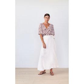 acacia Acacia Belle Linen Skirt