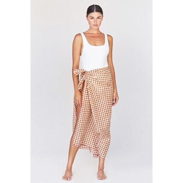 Acacia Swimwear Acacia Kuau Printed Pareo