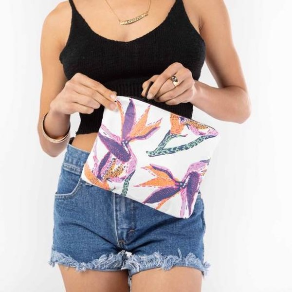 Aloha Collection Aloha Collection Small Paradise on Repeat Pouch