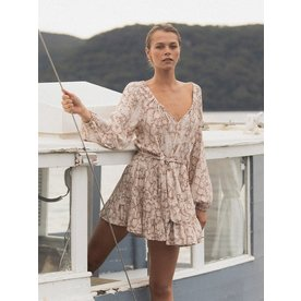 Kivari Kivari Angelina Snake Mini Dress