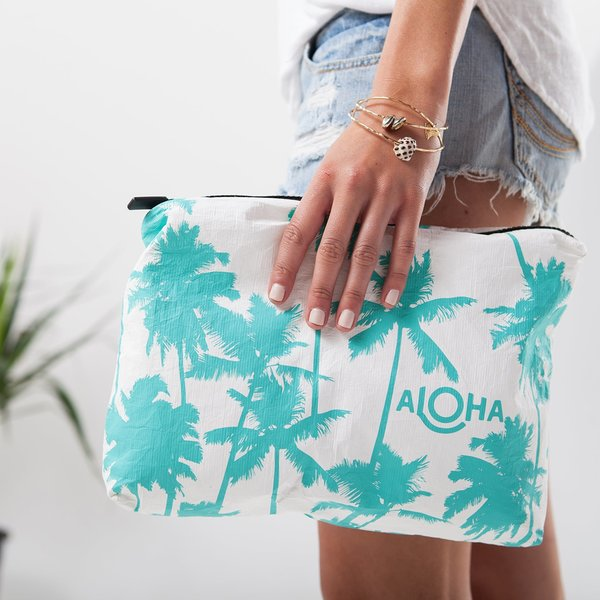 Aloha Collection Aloha Collection Mid-Size Pouch Assorted Prints