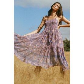 Spell Designs Spell Juniper Shirred Strappy Dress