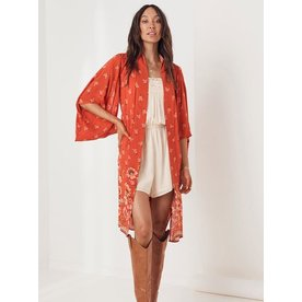 Spell Designs Spell Joni Midi Robe