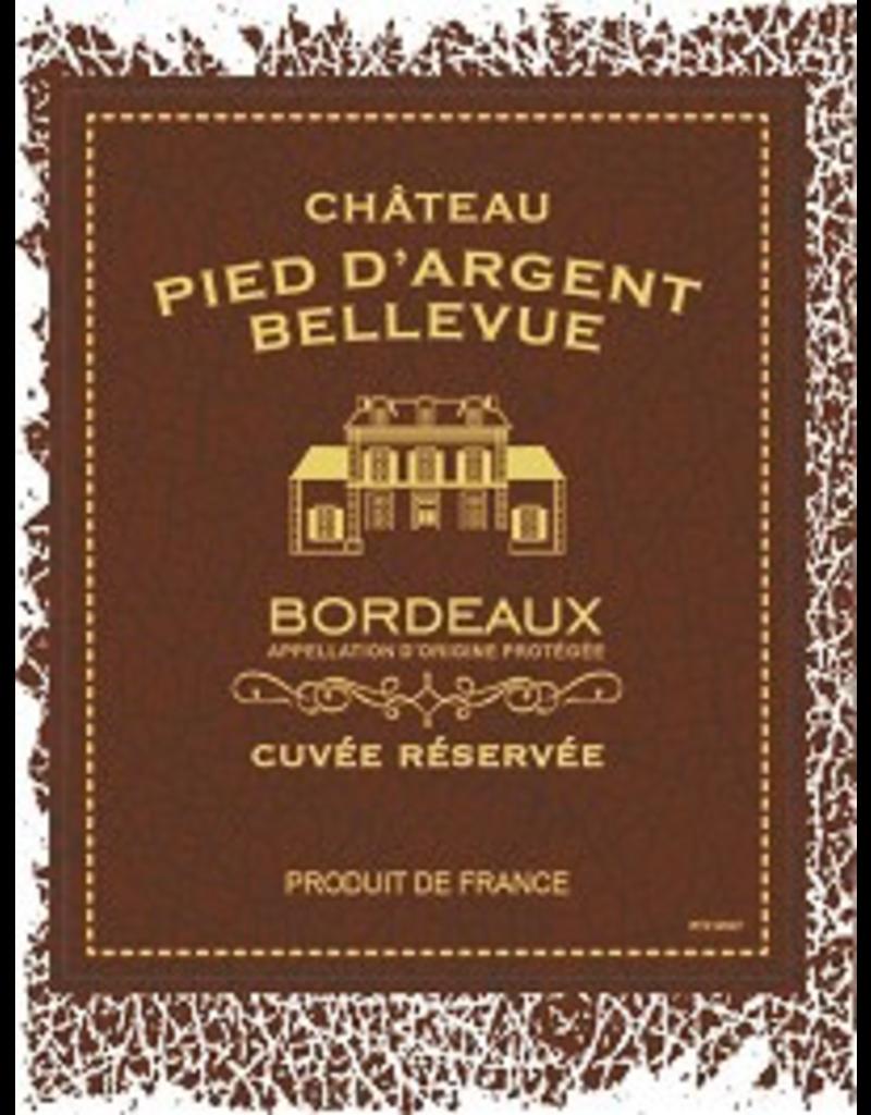 Bordeaux Red Chateau Pied d'Argent Bellevue Bordeaux Cuvee Haute Couture 2018 750ml