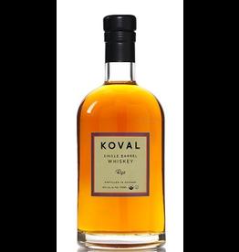 Rye Whiskey Koval Single Barrel Rye Whiskey 750ml