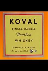 Bourbon Whiskey Koval Single Barrel Bourbon Whiskey 750ml