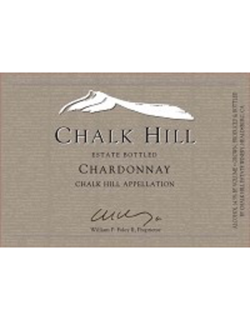 chardonnay Chalk Hill Chardonnay Estate 2018 750ml