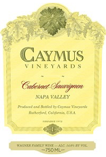 Cabernet Sauvignon SALE Caymus Cabernet Sauvignon 2019 750ml REG $109.99