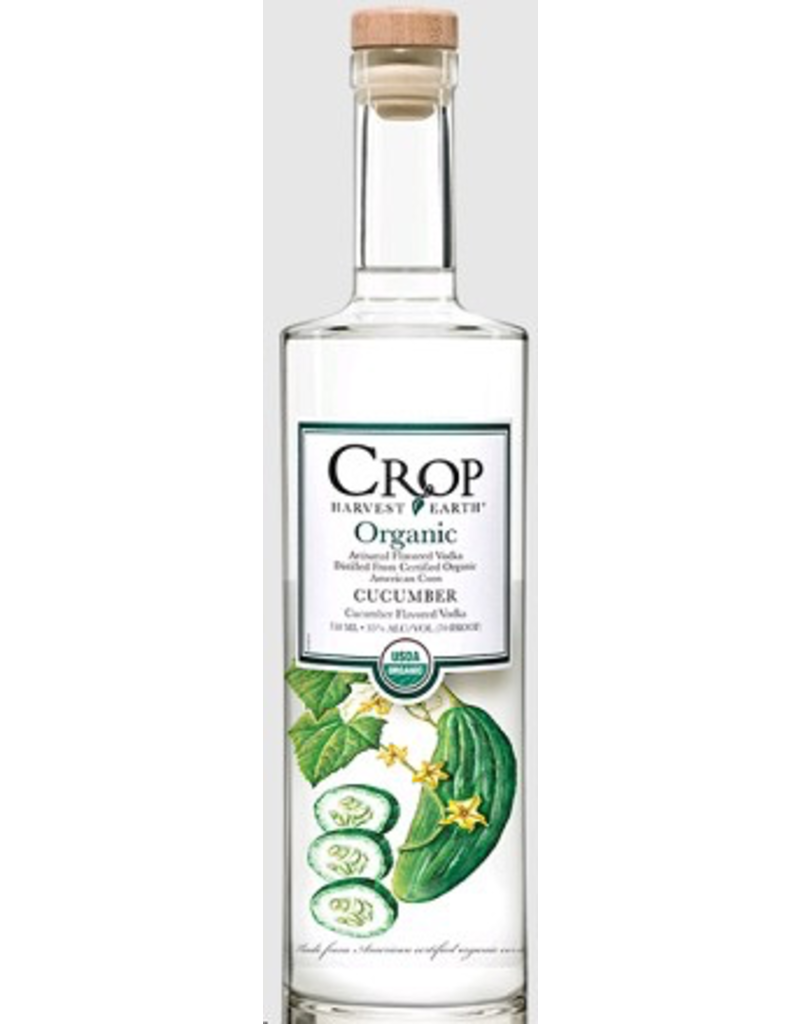 vodka Crop Harvest Earth Organic Cucumber Vodka 750ml