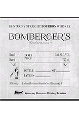 Bourbon Whiskey Bomberger's Declaration Kentucky Straight Bourbon Whiskey 2020 Release 750ml