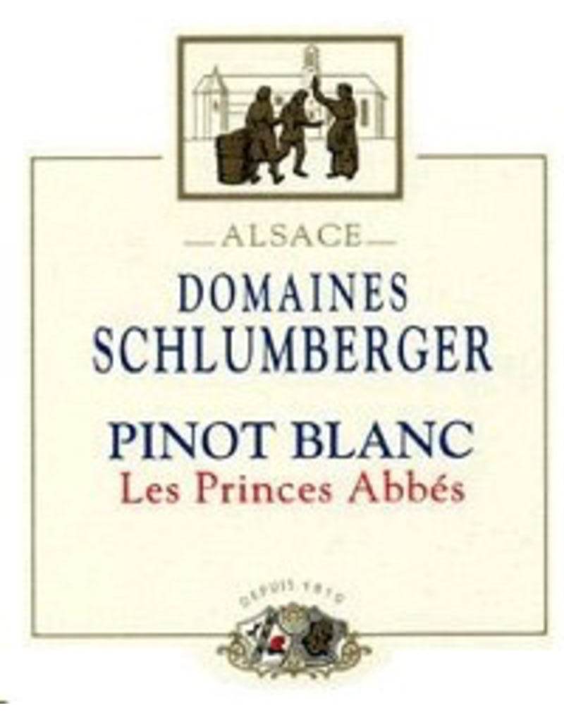 Pinot Blanc SALE Domaines Schlumberger Pinot Blanc 2018 Les Princes Abbes