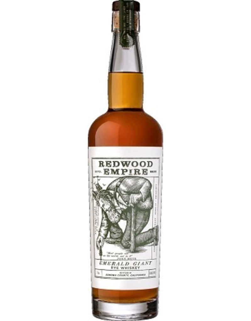 Rye Whiskey Redwood Empire Rye Whiskey Emerald Giant 750ml