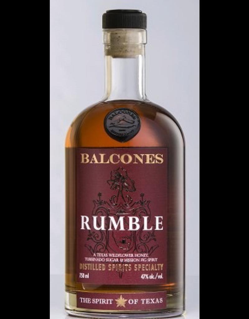 Cordials END OF BIN SALE Balcones Rumble Distilled Spirits Specialty Texas 750ml REG $69.99