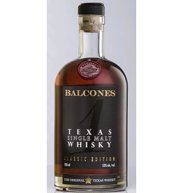 Bourbon Whiskey Balcones Texas Single Malt Whisky 750ml