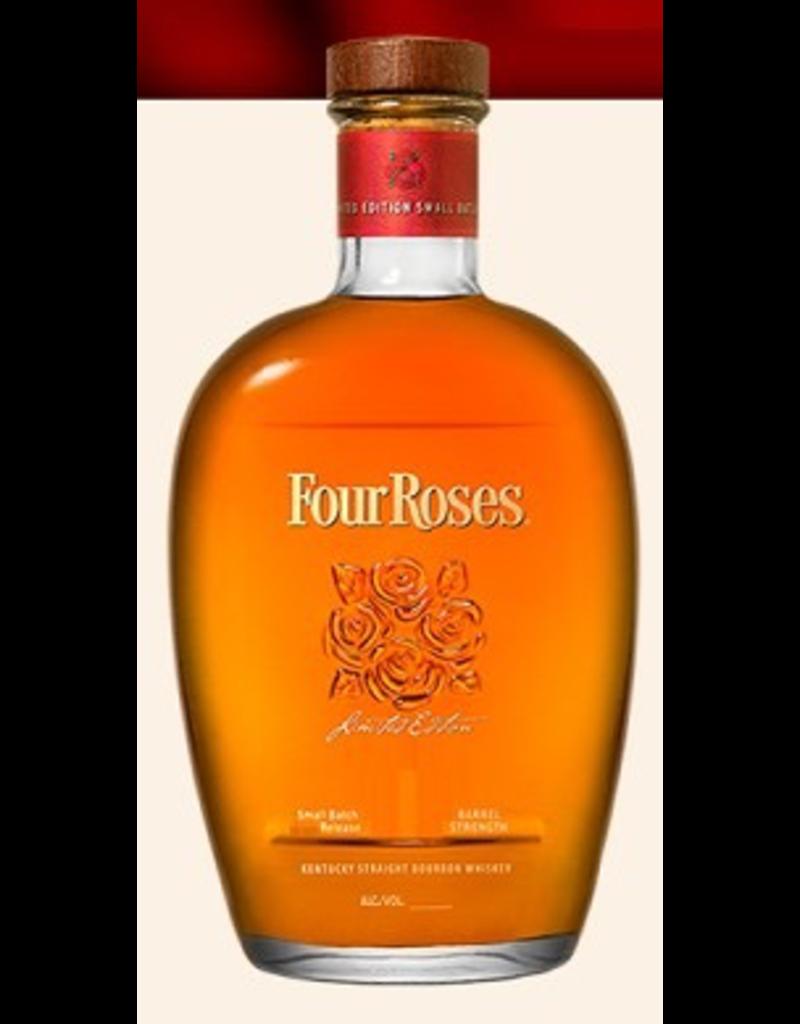 Bourbon Whiskey Four Roses Barrel Strength Small Batch Limite Edition Bourbon 750ml