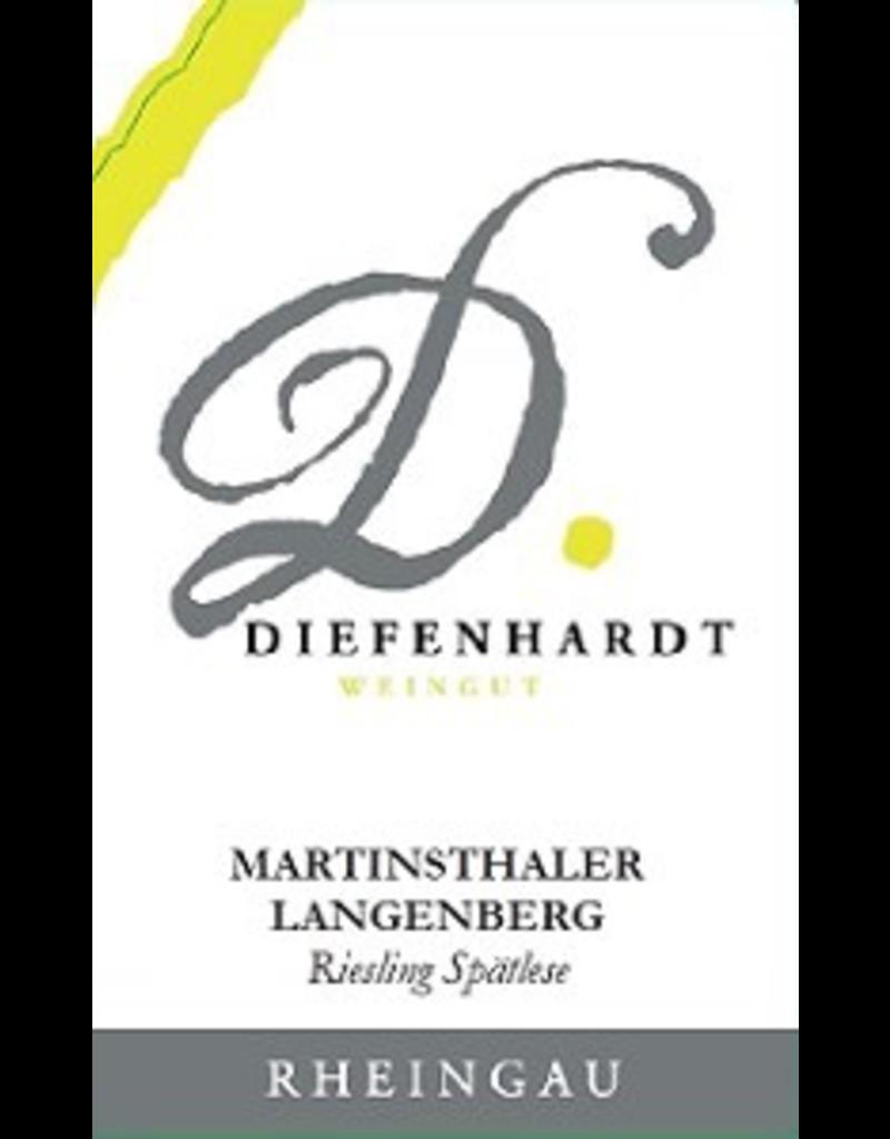 riesling Diefenhardt Martinsthaler  Langenberg Riesling Spatlese 2013 750ml
